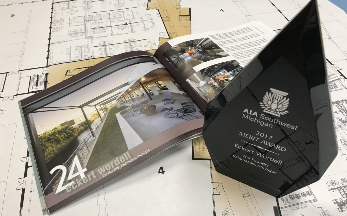 The Foundry and Eckert Wordell Receive AIA Southwest Michigan Award